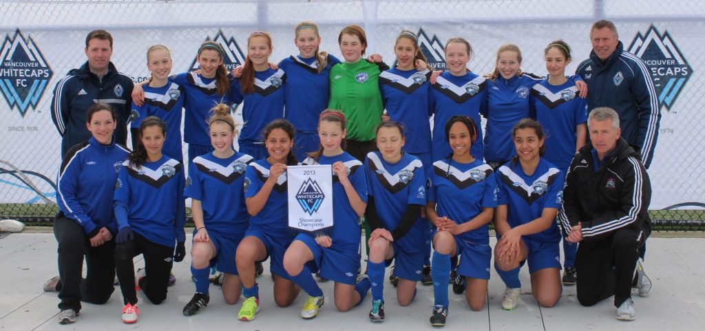 U14 Whitecaps Showcase Champions